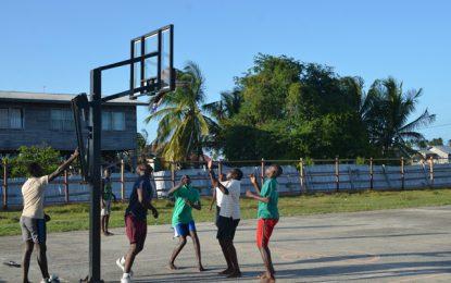 Paradise playground rehabilitated