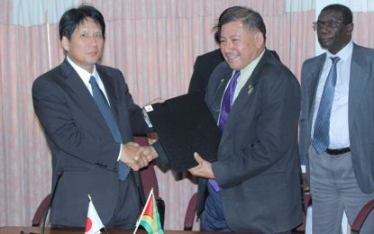 Japanese grants to fund three community development projects