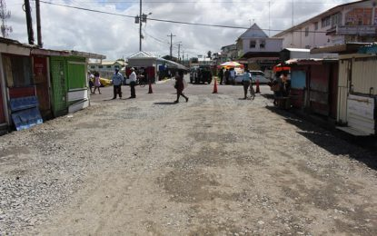Bourda Street rehabilitation commences