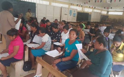 Teacher Upgrading programme relaunched in Paramakatoi