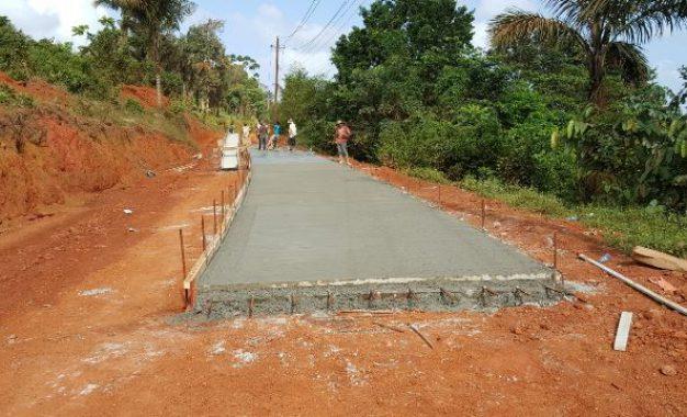 Multimillion dollar road works in Mabaruma progressing