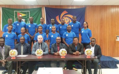 "Coaches continue to benefit from CONCACAF ""D"" licensing training"
