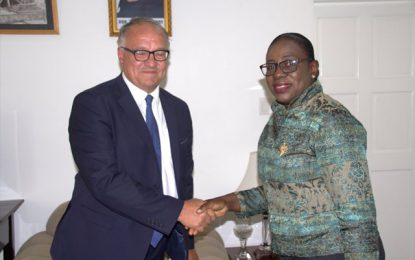 Further efforts are being made to strengthen bilateral relationship between Guyana and France via the education sector.