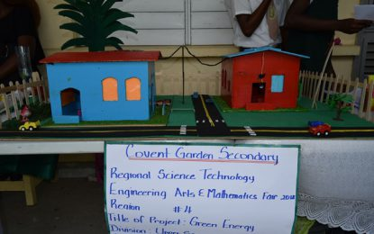 Region Four STEAM fair opens…  Dr Charles urges students to begin conversation on achieving sustainable society