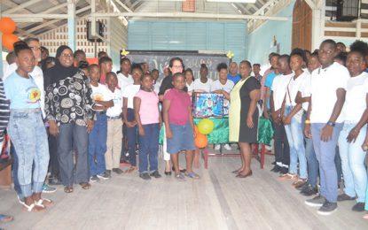 First Lady opens first STEM Guyana Robotics Workshop in Linden