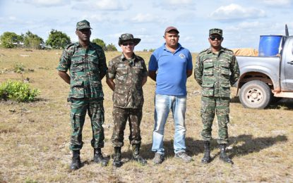 Drilling for Region Nine wells to commence in October  -Brazilian Commander inspects ongoing reconnaissance work