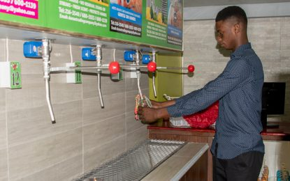 Local detergent refill center aims to reduce waste