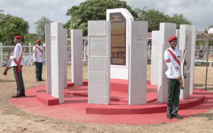 Emulate the bravery of Rose Hall martyrs  -says Minister Norton at memorial ceremony