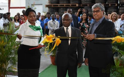 DDL opens $340M Warehouse- Minister Greenidge commends the investment