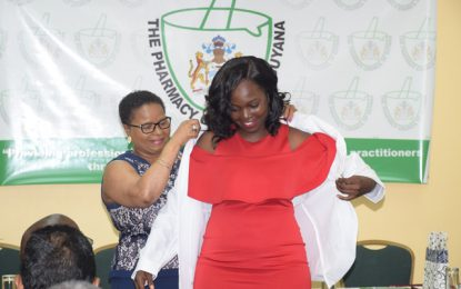17 pharmacists inducted into the profession