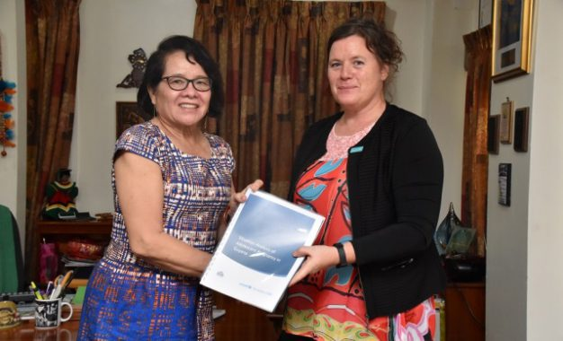First Lady receives report on teenage pregnancy from UNICEF Representative