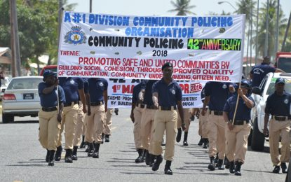 Community Policing of Guyana celebrates 42 years of dedicated service