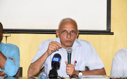 Minister Bulkan meet Region 10 leaders to address burning issues