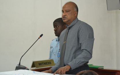 'My ranks were not at Lindo Creek' – Retd. Police Commissioner testifies at Lindo Creek COI