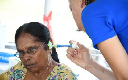 Starkey Foundation takes hearing screening to Region Five