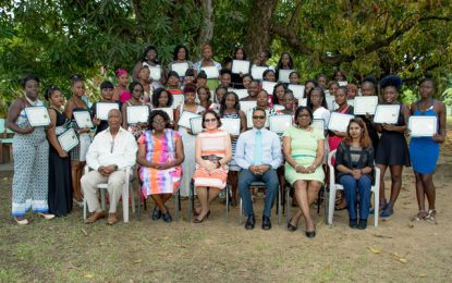 Fruit produce co-op group formed from First Lady's Self Reliance Workshop