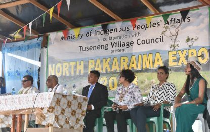 Tuseneng successfully hosts first major event- 5th North Pakaraima Expo.