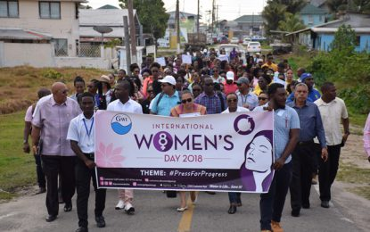 GWI honours female employees on International Women's Day