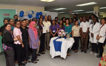 GNBS re-certifies the GPHC Medical Laboratory