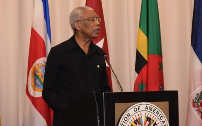 Message of His Excellency Brigadier David Granger President of the Cooperative Republic of Guyana on the occasion of World Environment Day 2018