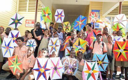Education Minister surprises NGSA students with kites