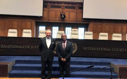 Guyana files its case with the International Court of Justice