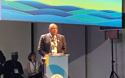 Government of Guyana affirms its commitment to working together to implement the Roadmap for the 8th World Water Forum.