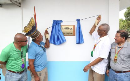 Community radio stations aim to empower citizens, promote greater inclusivity  -President Granger says at commissioning of Radio Orealla