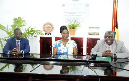 CPCE receives Electronic Notice Boards from the Guyana-Bahamas Association