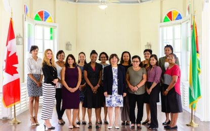 Op-Ed by Her Excellency Lilian Chatterjee High Commissioner of Canada to Guyana on the occasion of International Women's Day