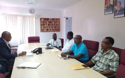 Minister Trotman engages GTUC over treatment of workers at BCGI