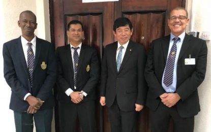WCO Secretary General visits GRA to discuss technical support, capacity building