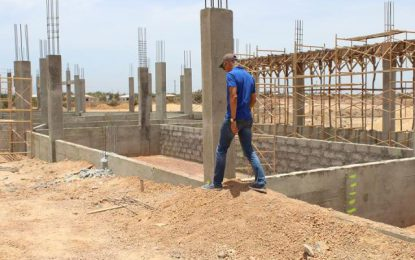 Lethem Industrial Estate construction on schedule