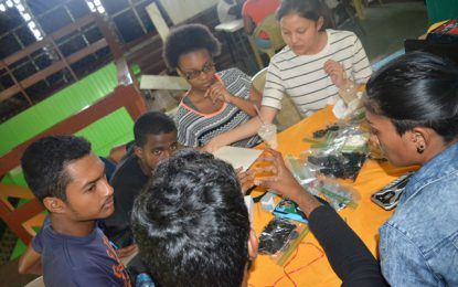 STEMGuyana Launches Assessment Process To Identify 2018 Robotics National Team Members