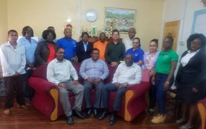 Senior Education Officials visit Region One