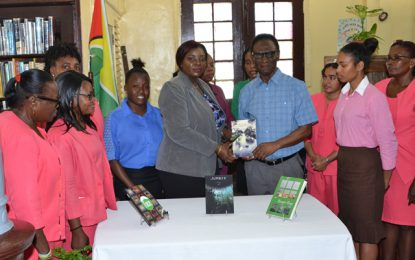 Author hopes to inspire youths