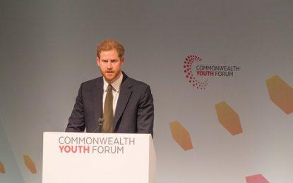 CHOGM 2018: Prince Harry headlines Commonwealth Youth Forum