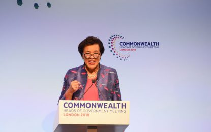 Baroness Scotland to attend CFATF International Judges and Prosecutors Conference