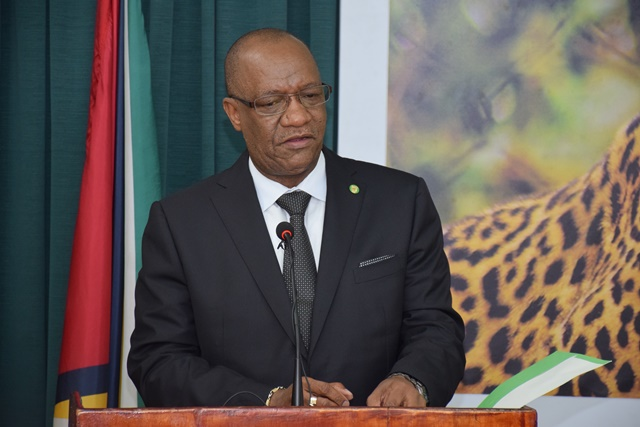 Cyber Crimes Bill will protect the state – Min. Harmon  – from espionage, sabotage and subversion  – National Security a major priority of Govt