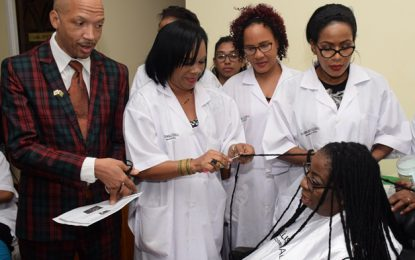 Local cosmetologists praise SBB's Micro-Cosmetology programme