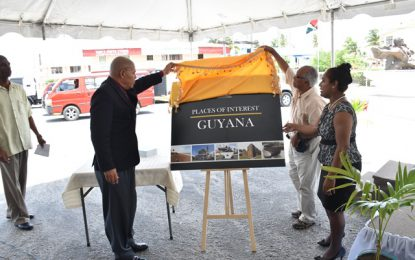 Guyanese to preserve and protect monuments and sites