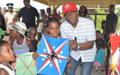 Min. Greenidge brings Easter joy to Region Six children