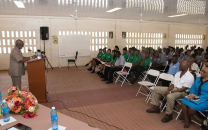 Tech-Voc youth benefit from Occupational Safety and Health symposium