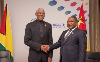 Mozambique, London diaspora recommit to strengthening relations with Guyana