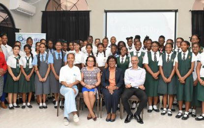 First Lady & Minister Hughes tell girls 'ICT is the future'