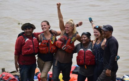 First kayaking expedition along the Essequibo River successful