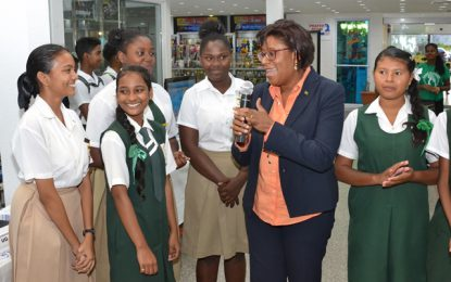 Code! Create! Conquer! mini expo encourages girls into ICT