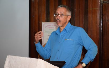 Business Minister engages Essequibo Chamber of Commerce, other entrepreneurs