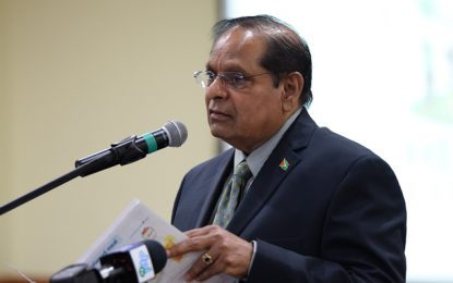 Comments by Hon. Moses Nagamootoo, Prime Minister of the Cooperative Republic of Guyana (with responsibility for Governance and Public Information)