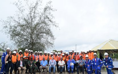 "Guyana taking preparatory measures ahead of ""first oil""  – Oil Spill Response Training most recent activity"